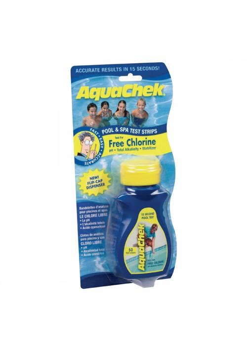 Aquachek bleu test peroxyde oxygène actif