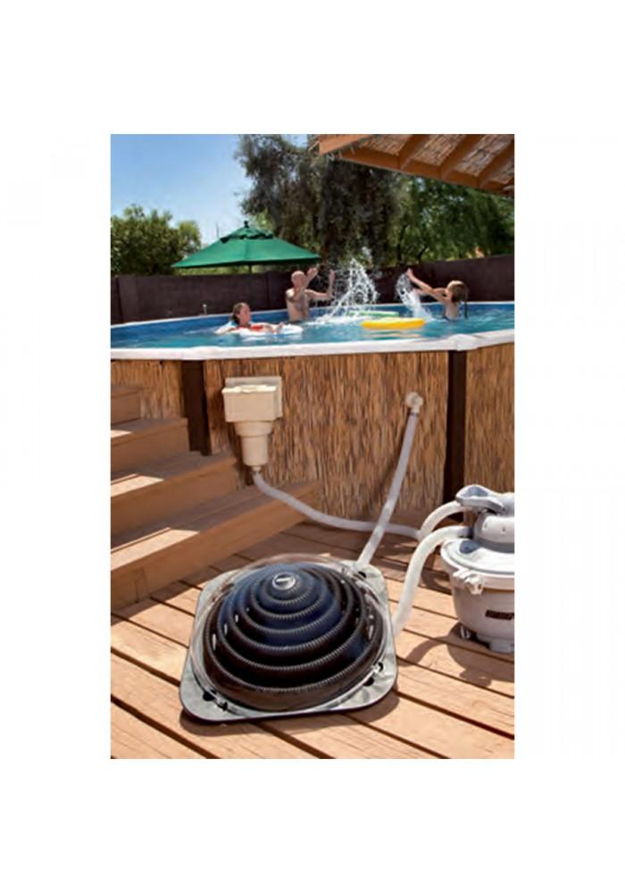 Chauffage solaire pour piscine hors-sol