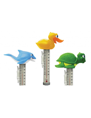 Thermomètre piscine animal