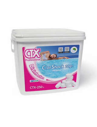 Chlore choc 20 gr ctx 1 kg
