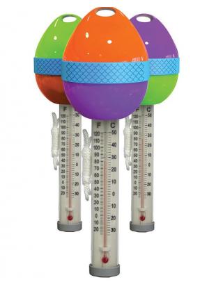 Thermomètre flottant coloré